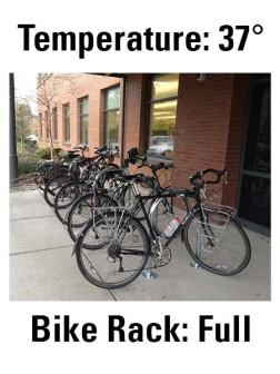 Full bike rack