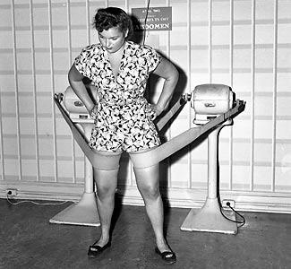 Old fashioned exercise machine belt 30