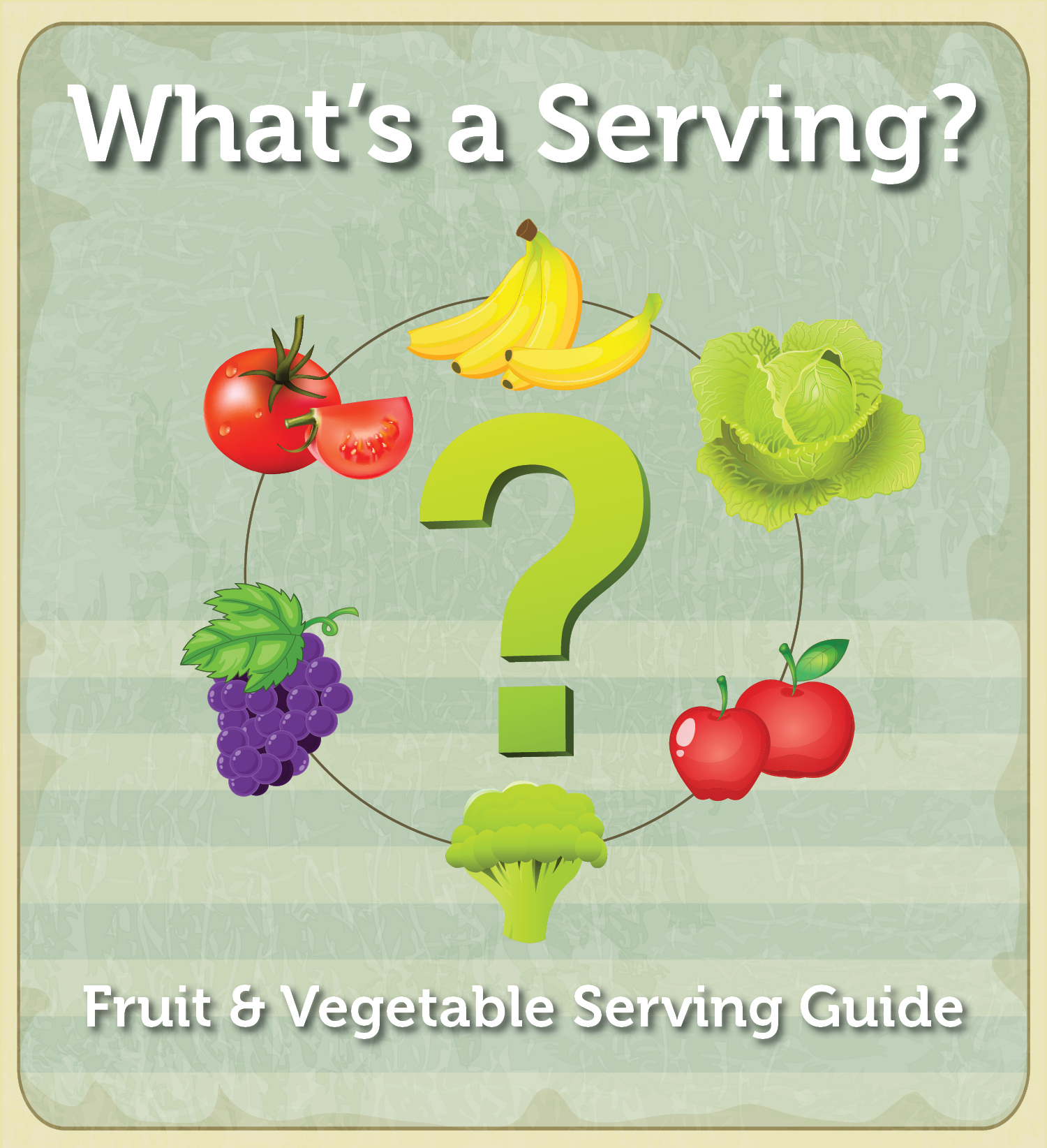 infographic what u0027s a serving the fruit and vegetable serving