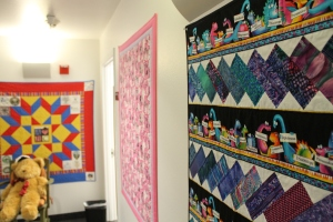 Every child who leaves ABC House gets their own, hand-made quilt.