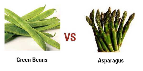 Beans vs. Asparagus