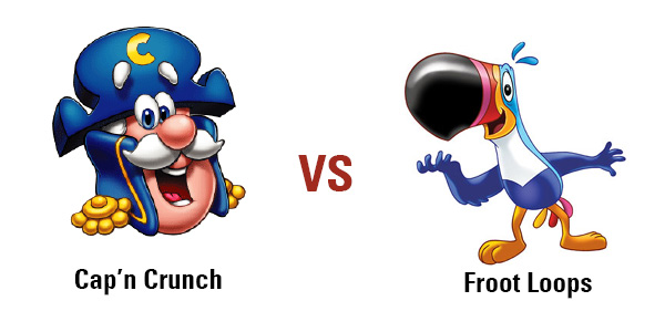 Froot Loops vs