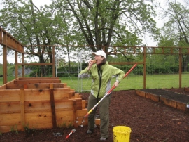 Meet Sara, our PacificSource Gardening Capatin.