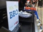 Our pals at Bi-Mart offered up a free grill to fit the theme of the Healthy Life Tailgater