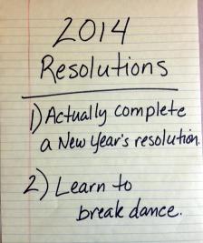2014 Resolution
