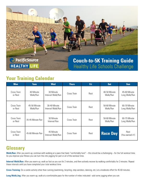 Couch to 5K_four week_family guide