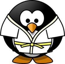 Penguin Judo. Is this a thing?
